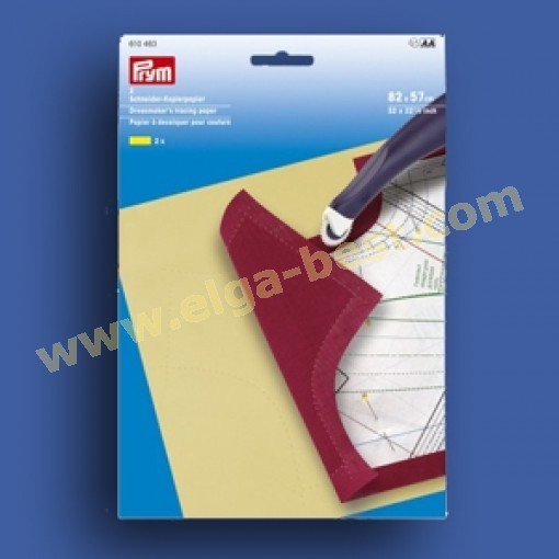 Prym 610463 Kopieer papier patronen 82x57cm Geel