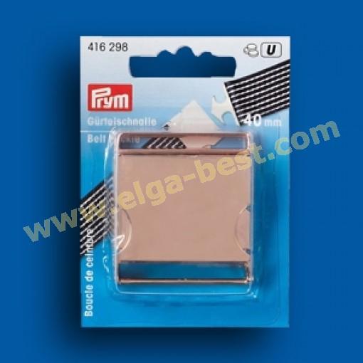 Prym 416298 Klikgesp Metaal rose 40mm