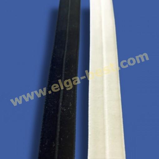 Fluweelband Strecht velvet