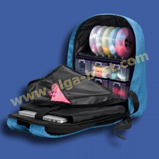 Prym 612568 Rugzak Store & Travel Blau
