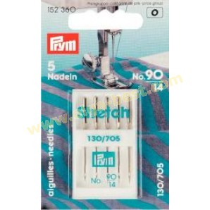 Prym 152360 stretchnaalden no. 90