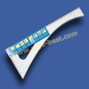 611499 Kleermakers liniaal