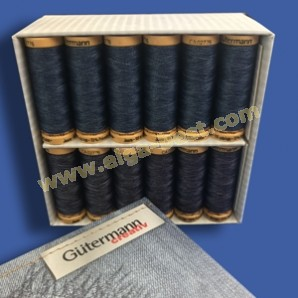 Jeans Garen Display Box Gutermann