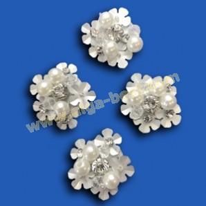 Zilveren bloem  FW17-9009