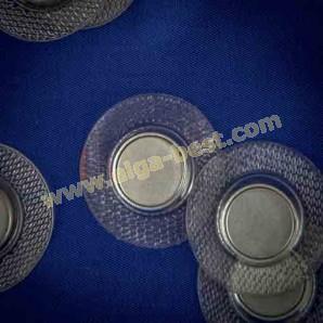 Magneetknoop naaibaar en instrijkbaar