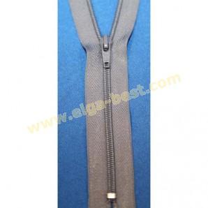 Merkloze rits Type 4 Spiraal nylon 4mm - niet deelbaar
