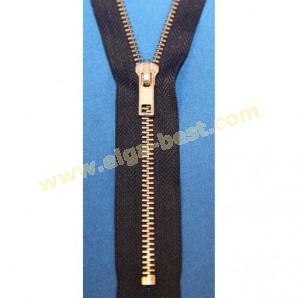 Merkloze rits Type 5 Nikkel 6mm (voor jeans) - niet deelbaar