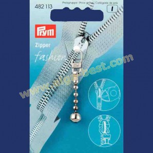 Prym 482113 Fashion Zipper kogelketting