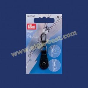 Prym 482356 Fashion Zipper lederimitatie rond