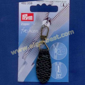 Prym 482359 Fashion Zipper lederimitatie ovaal
