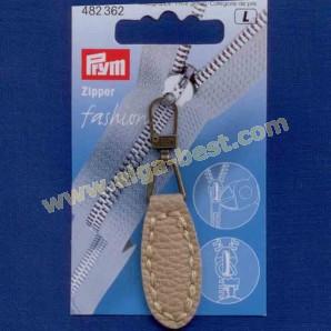 Prym 482362 Fashion Zipper lederimitatie ovaal