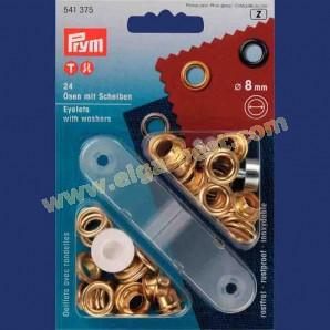Prym 541375 Ringen met schijven 8mm