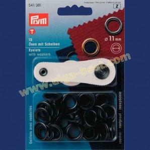 Prym 541381 Ringen met schijven 11mm