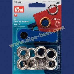 Prym 541383 Ringen met schijven 14mm