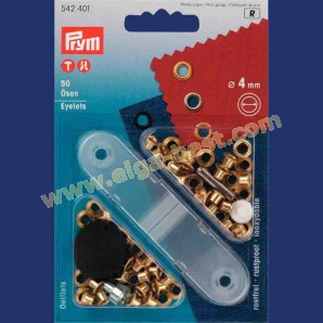 Prym 542401 Ringen 4mm Goud