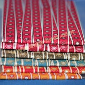 Bloemenband decoratieband 14617