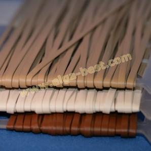 Imitatie lederband Nappa 4mm