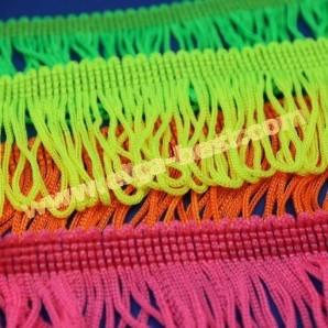 Franje lus neon kleuren