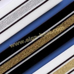 700260-040-4mm  Elastiek met lurex
