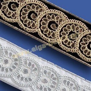 981168.000-45mm Galon metallic