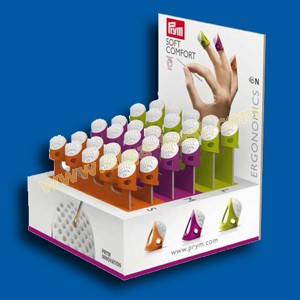 Prym 651751 Vindgerhoeden ergonomics, display 3 x 10