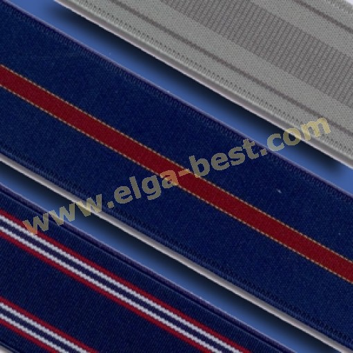 927417003 Suspenders extra heavy - double clips - 3,5 cm