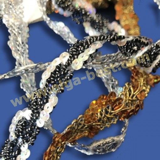 FTY-4007 Sequin braid Galon 15mm