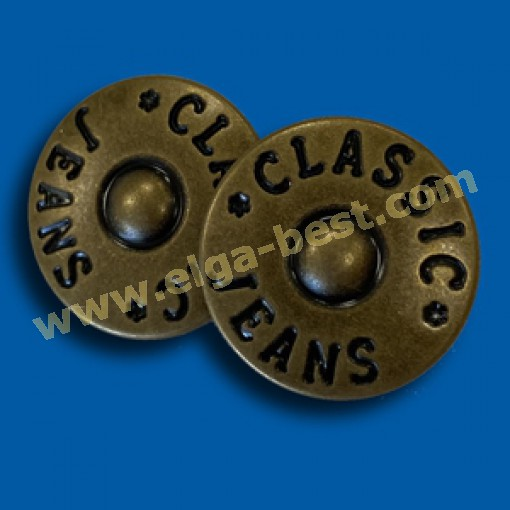 Jeans Tack buttons JPKN-16