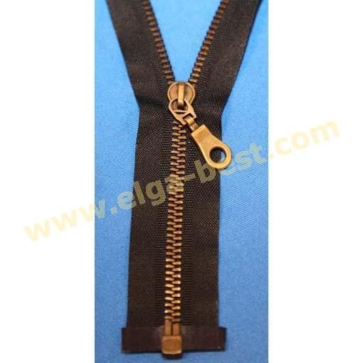 Brandless Zipper Type 5 bronze 6mm - open end