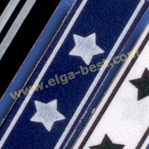 Galloon Trim 30mm stripes 100% polyester col 1