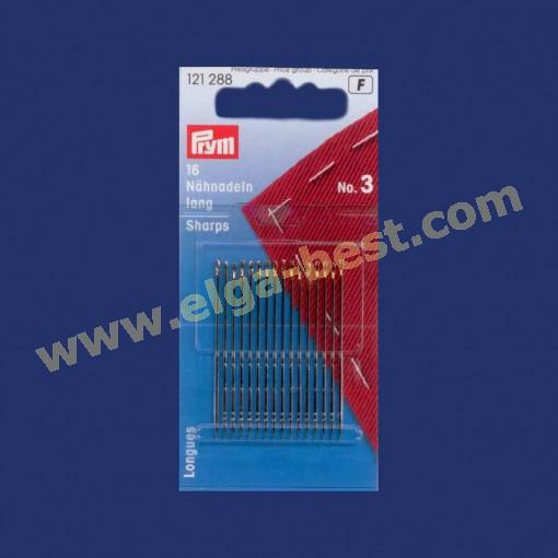 Prym 121288 Sewing needles long no. 3