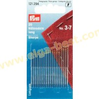 Prym 121294 Sewing needles long no. 3-7