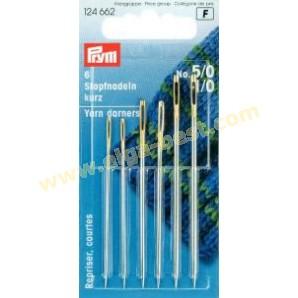 Prym 124662 Yarn/cotton darners Short no. 5/0 - 1/0