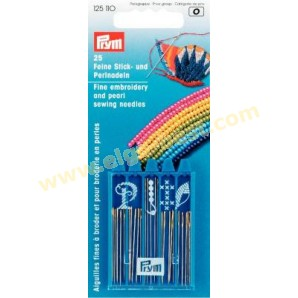 Prym 125110 Embroidery and pearl sewing needles