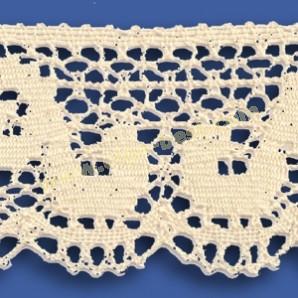 Cotton lace 152-478-B Ecru