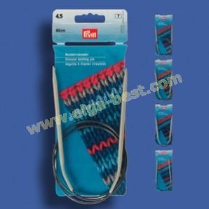 Prym 211204 Circular knitting pins plastic 80cmx2,00mm