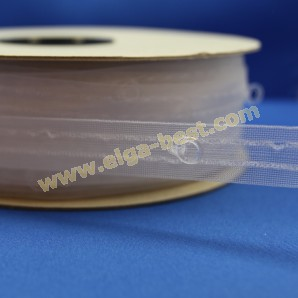 Curtain tape Diana with shirring