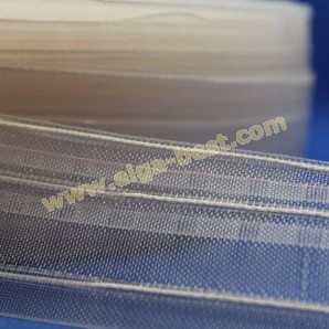 Curtain tape Blues flat folds