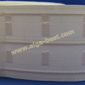Curtain tape Fidelio with goblet folds