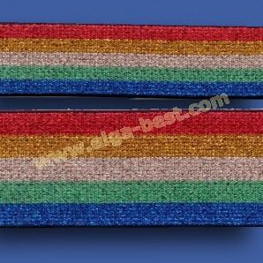 700516 Lurex elastic Rainbow