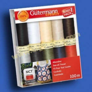 Fine Basting ThreadCotton 100/%Package of 3