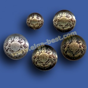 2185Z Blazer Buttons Metal