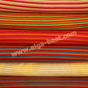 Board material/fabric cotton - elastan striped