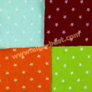 Board material/fabric cotton - elastan with stars