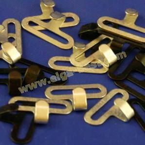 Bow-tie hooks 15mm