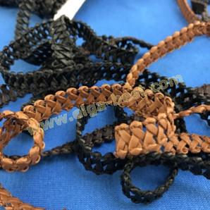 Chanel braid leatherette