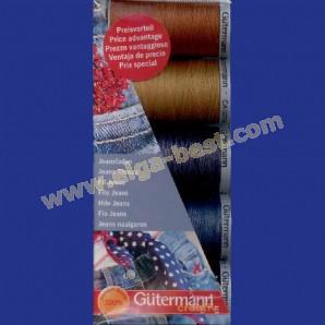 Gütermann jeans sewing thread set