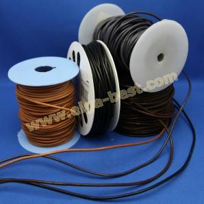 Imitation leather cord round