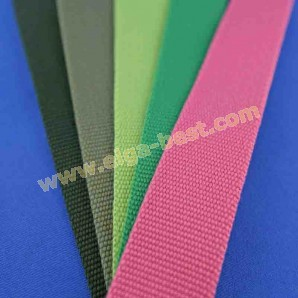 Belt webbing uni colours