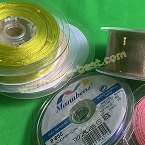 Organza ribbon uni colours